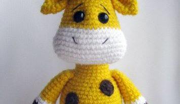 Жираф амигуруми