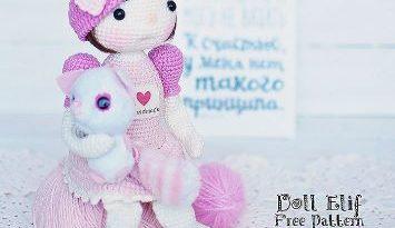 Кукла Элиф амигуруми