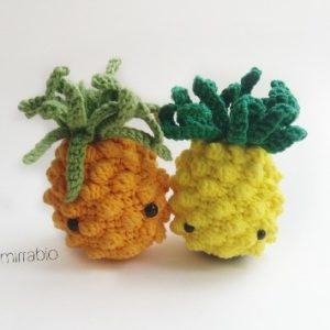 Вязаный ананас крючком