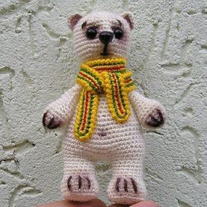 Медвежонок амигуруми крючком
